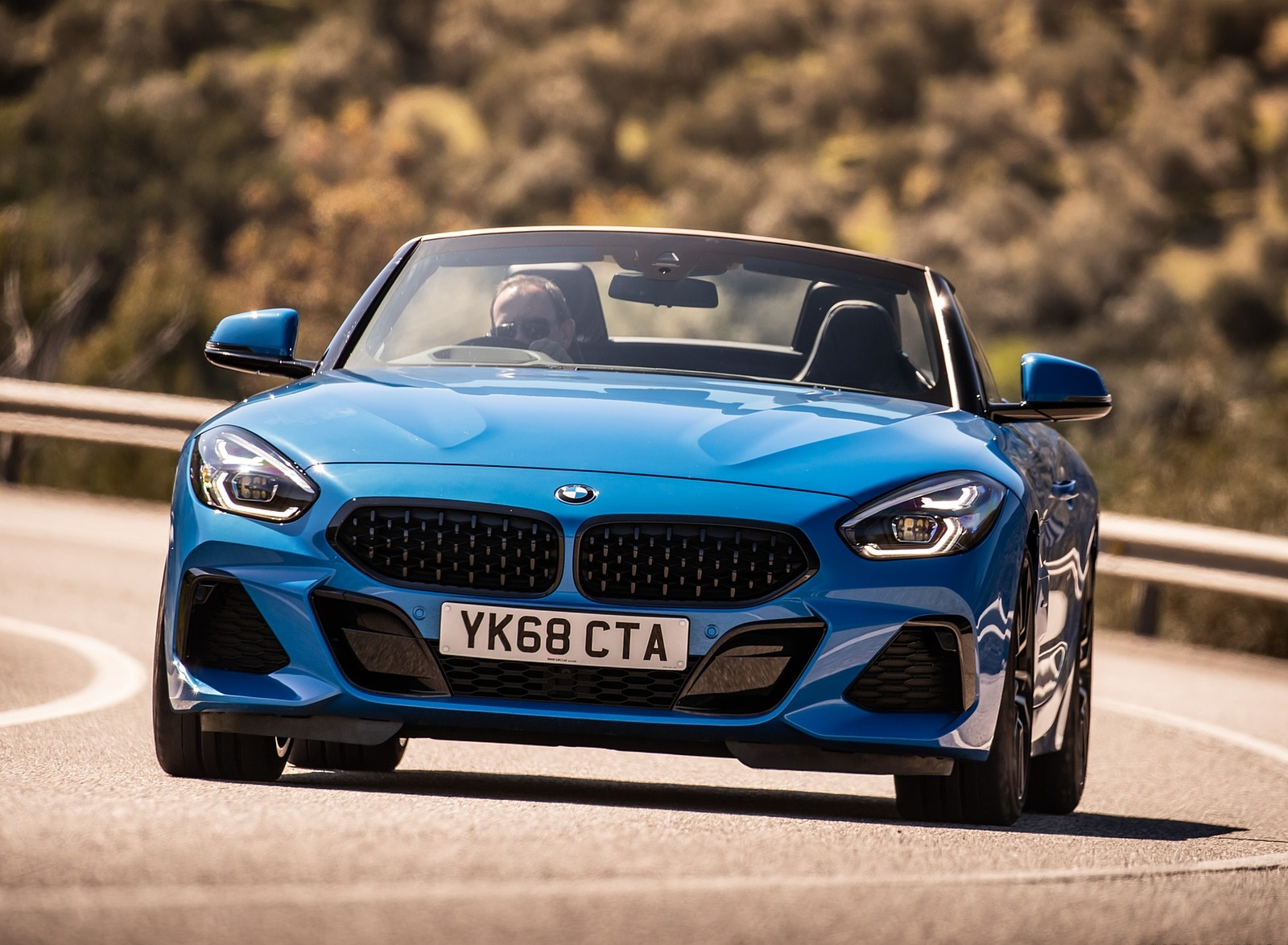 2019 Bmw Z4 Sdrive20i Uk Spec Front Wallpapers 5 Newcarcars