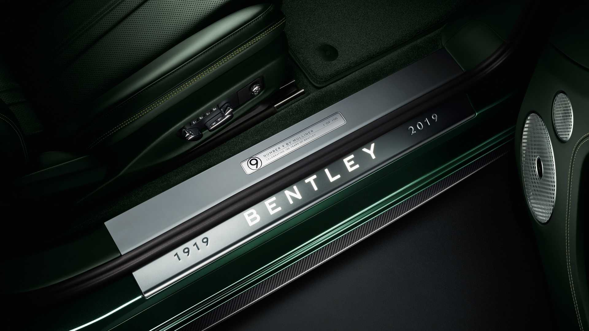 2019 Bentley Continental GT Number 9 Edition by Mulliner Door Sill Wallpapers (6)