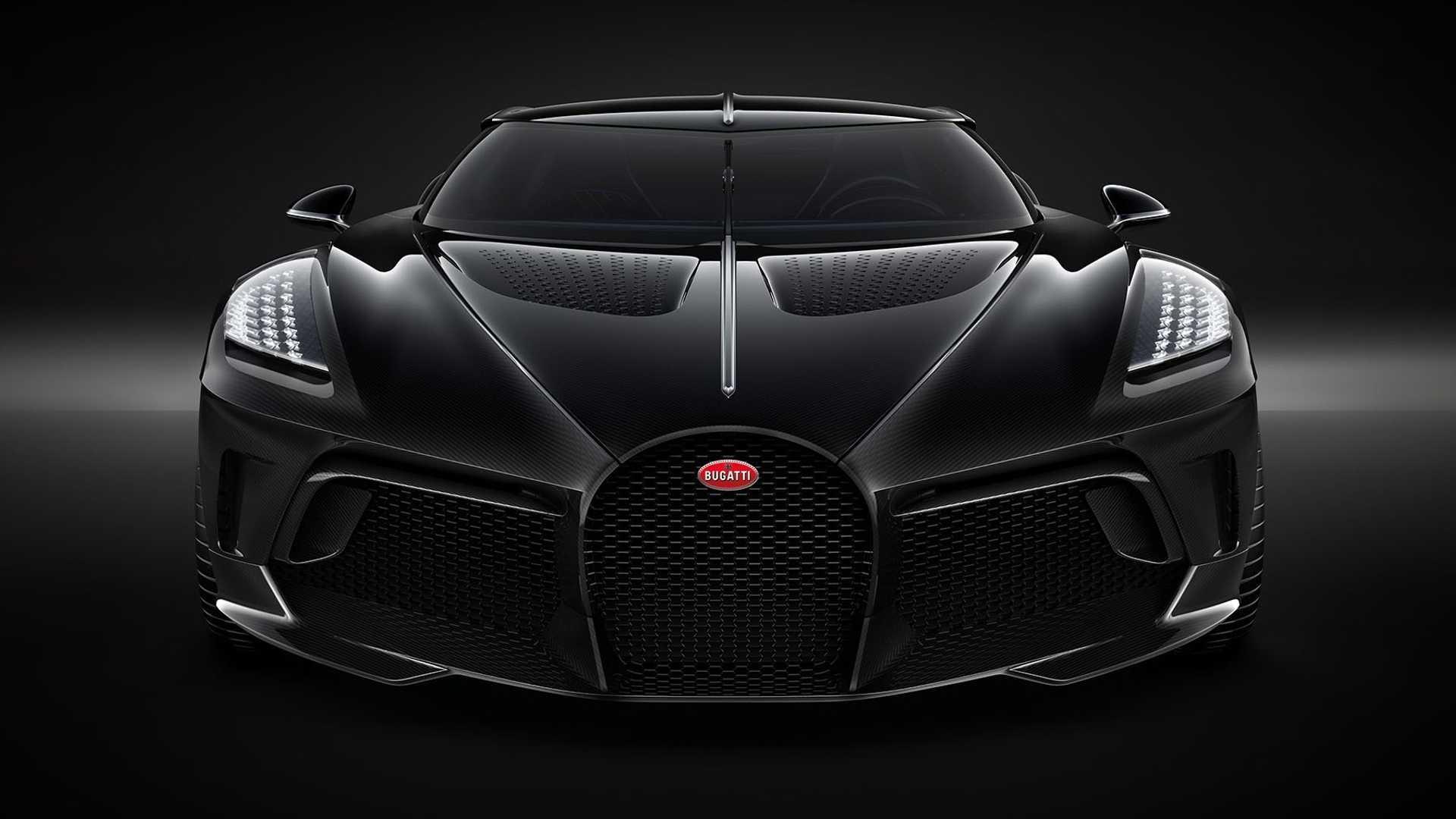 2019 Bugatti La Voiture Noire Front Wallpapers (2)
