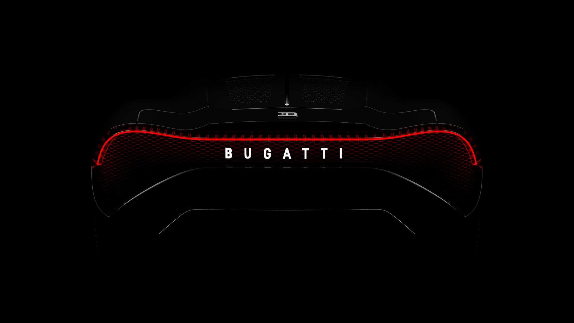 2019 Bugatti La Voiture Noire Tail Light Wallpapers (15)