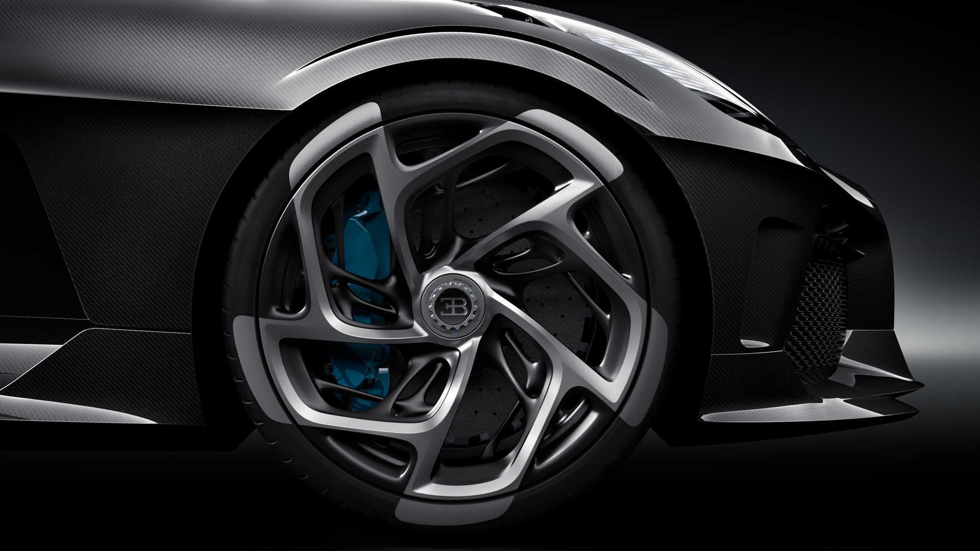 2019 Bugatti La Voiture Noire Wheel Wallpapers (14)
