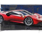 2019 Ferrari P80/C Design Sketch Wallpapers 150x120 (15)