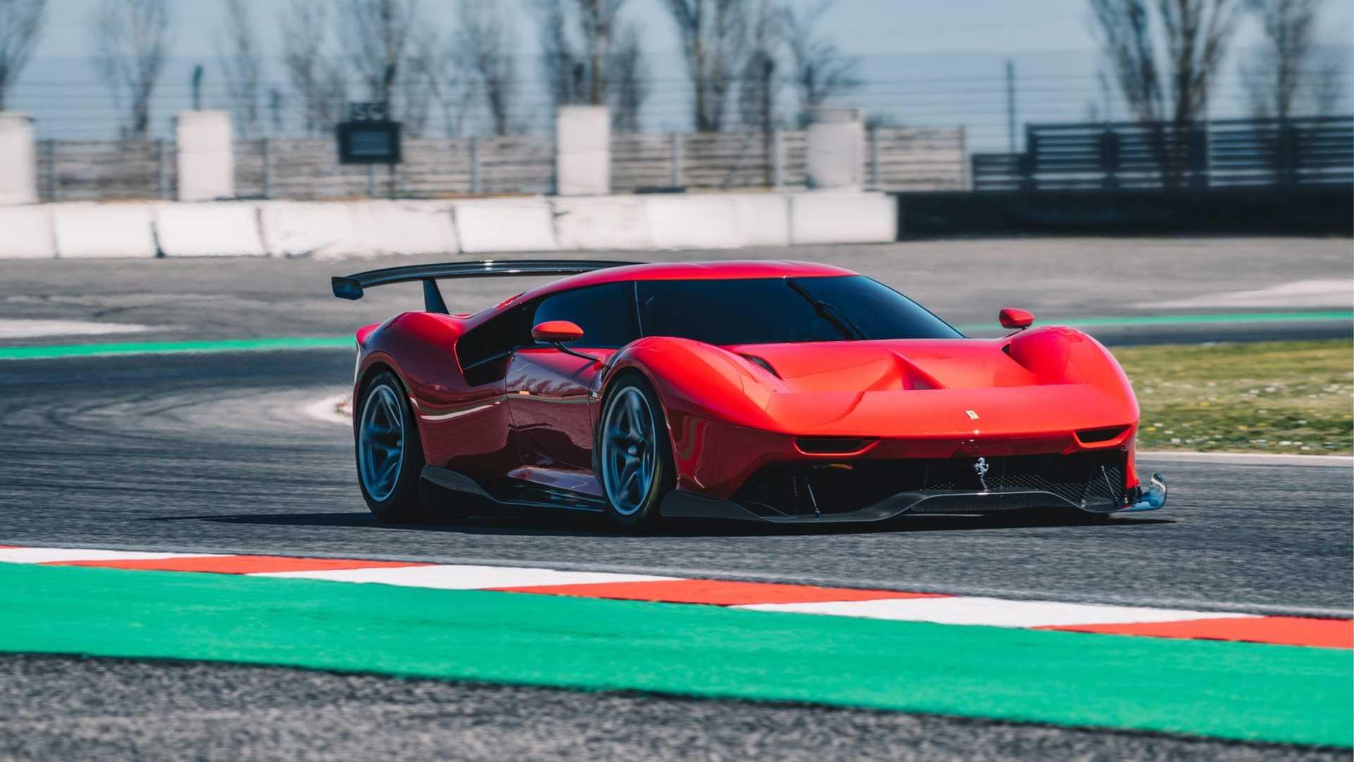 2019 Ferrari P80/C Front Wallpapers (2)