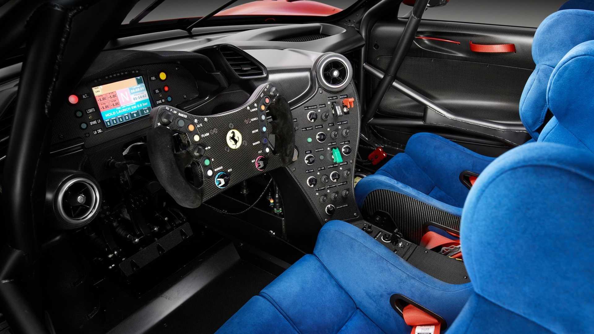 2019 Ferrari P80/C Interior Wallpapers (10)