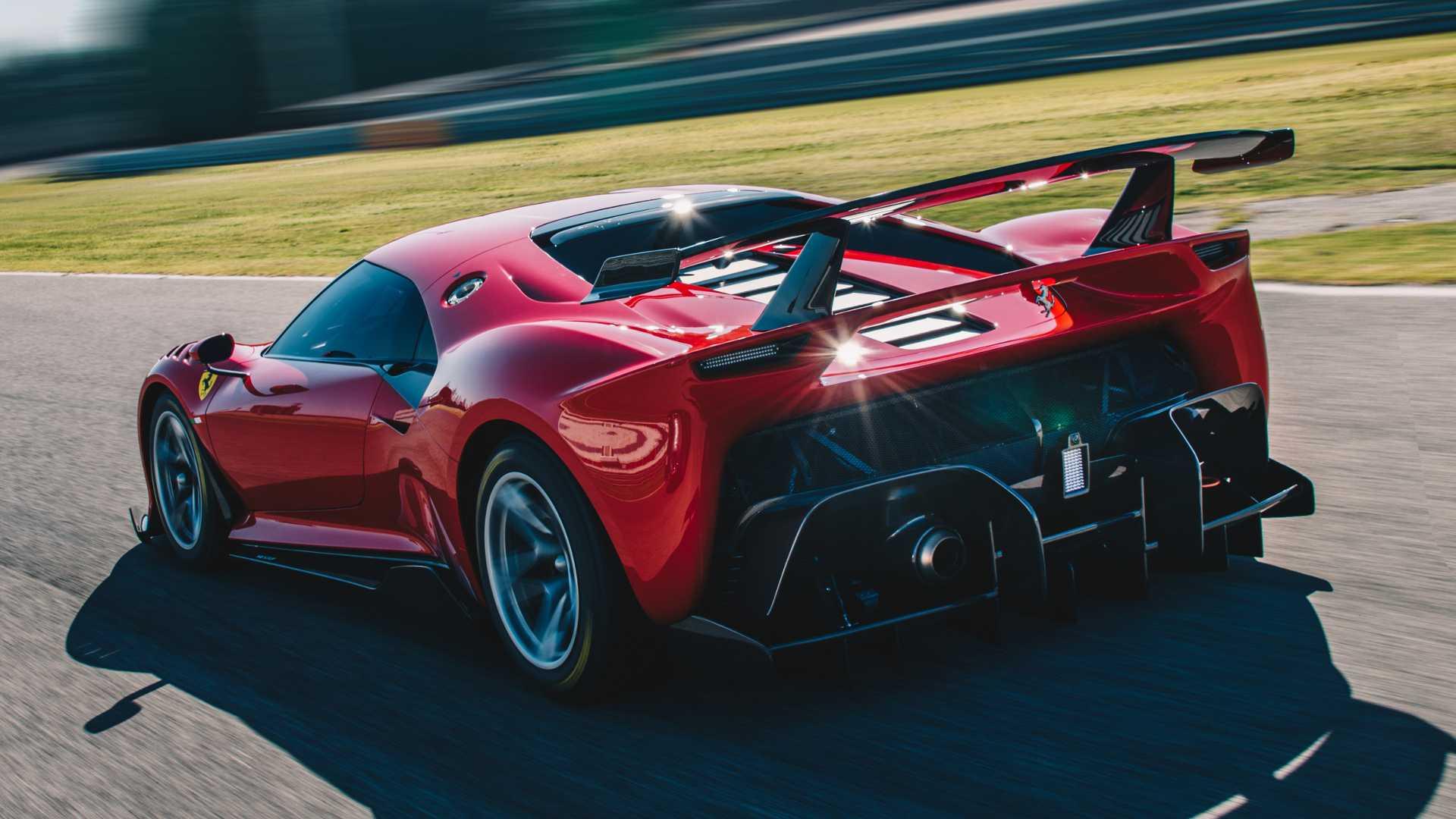 2019 Ferrari P80/C Rear Three-Quarter Wallpapers (4)