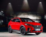 2019 Hyundai Tucson N Line Front Three-Quarter Wallpaper 150x120 (17)