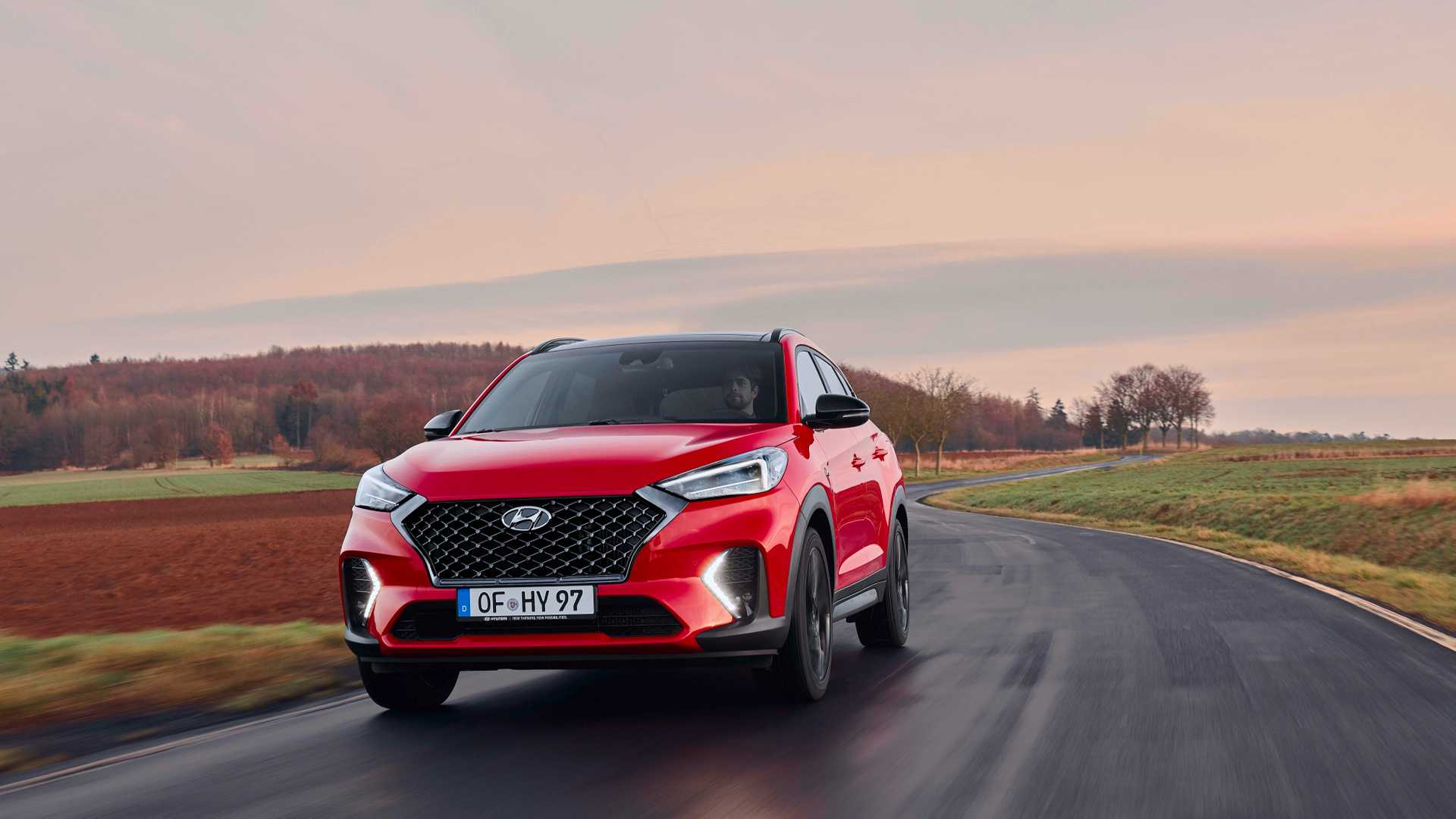 2019 Hyundai Tucson N Line Front Three-Quarter Wallpaper (8)