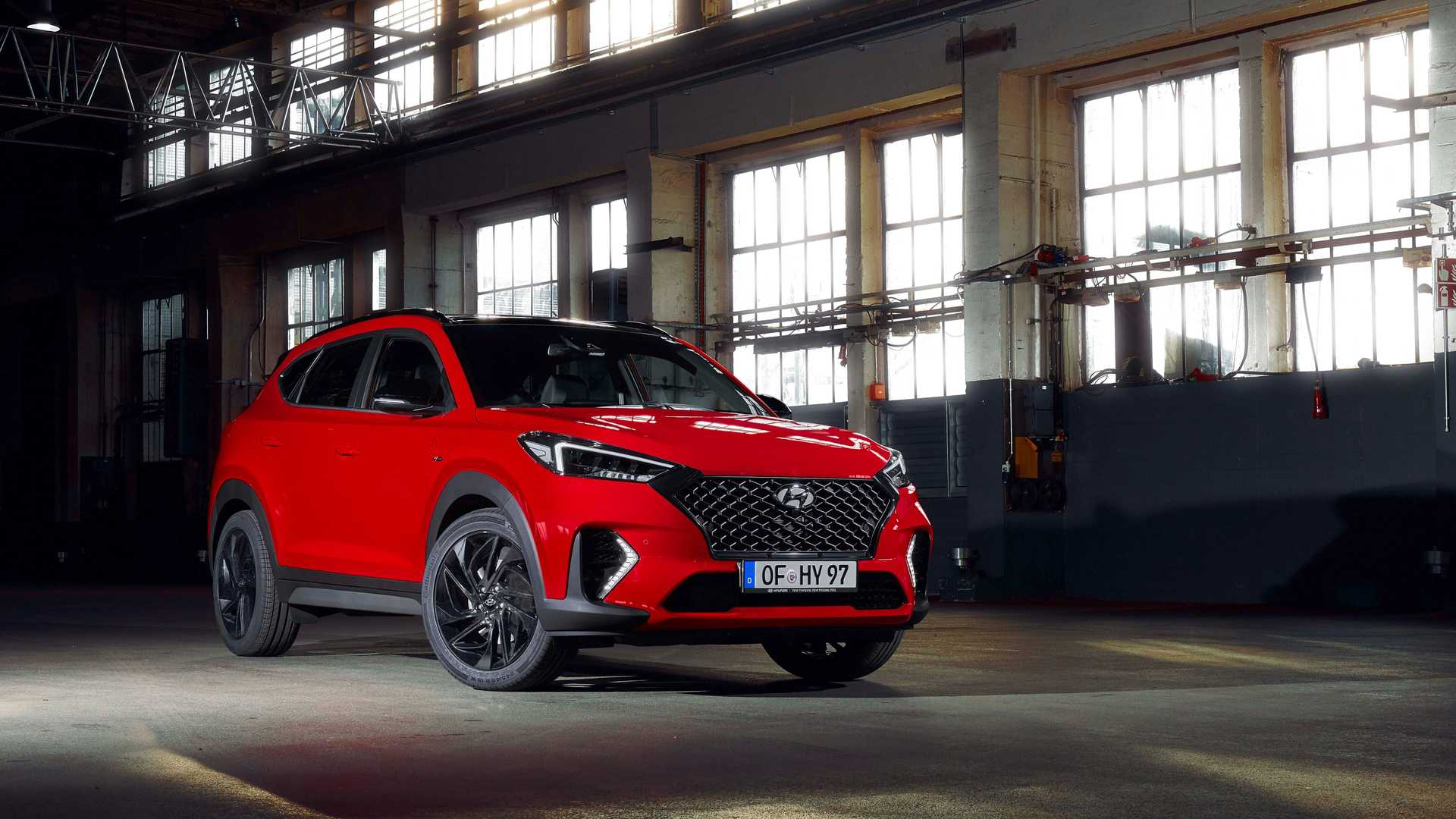 2019 Hyundai Tucson N Line Front Three-Quarter Wallpaper (15)
