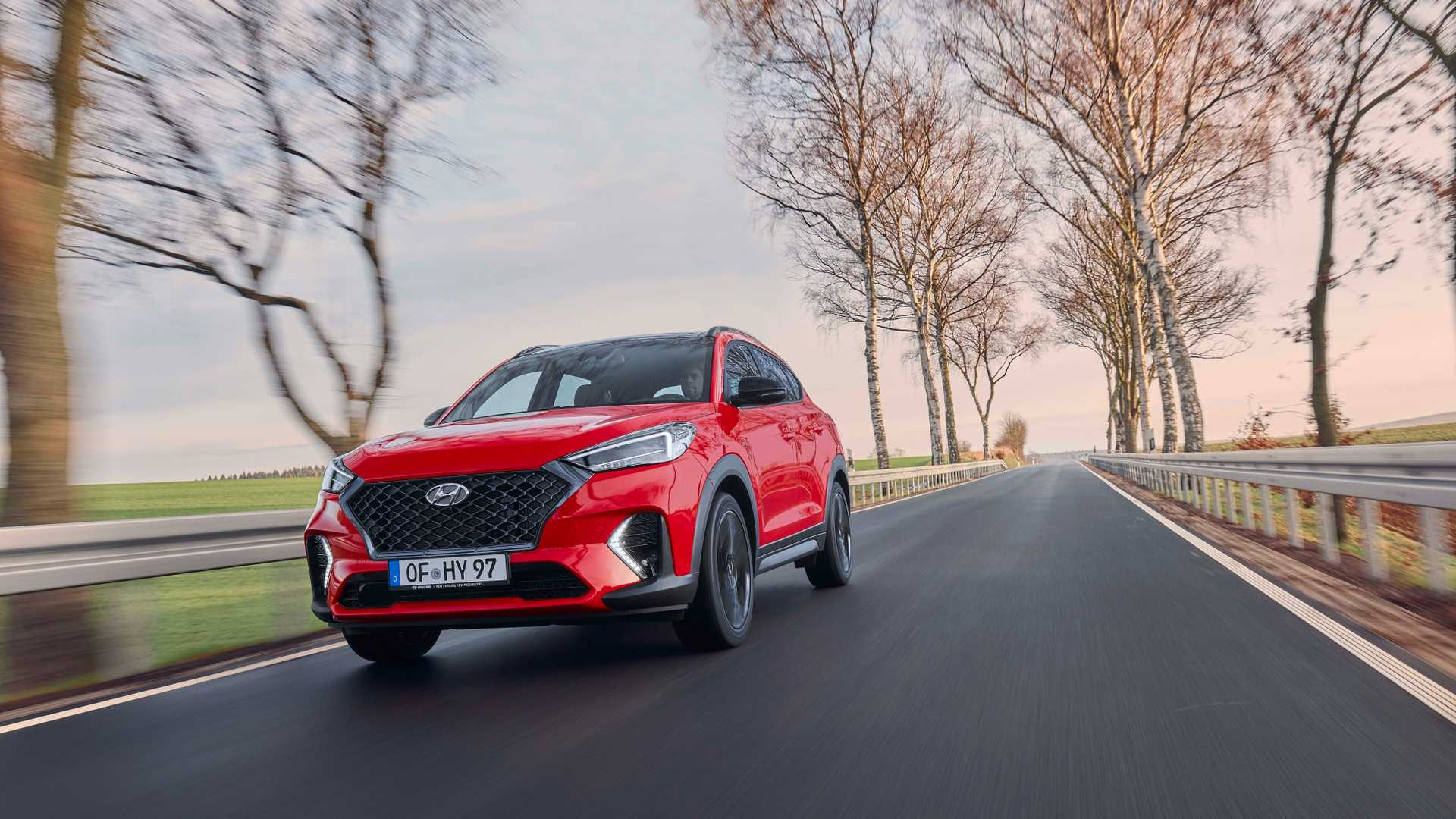 2019 Hyundai Tucson N Line Front Three-Quarter Wallpaper (9)