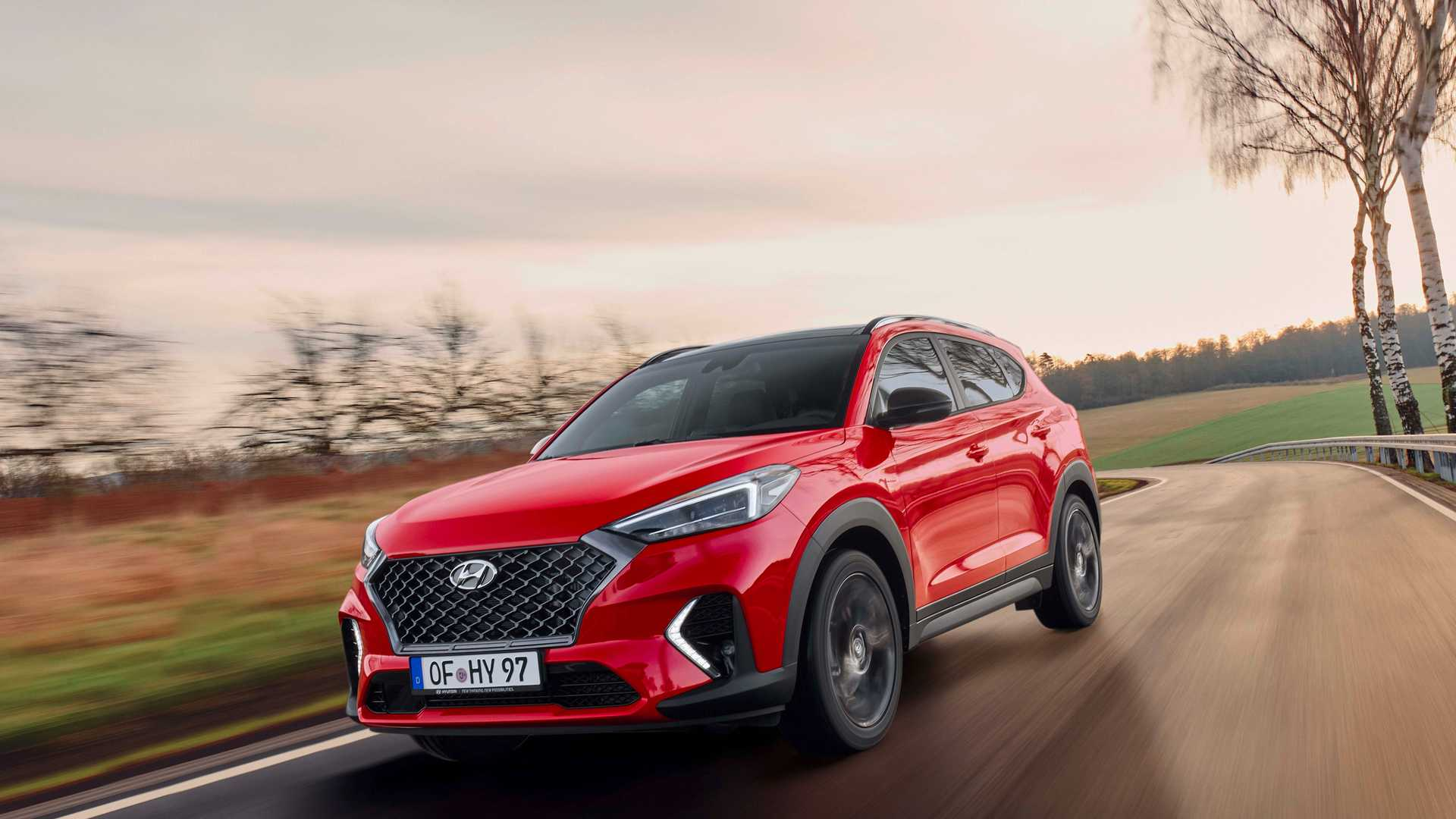 2019 Hyundai Tucson N Line Front Three-Quarter Wallpaper (1)