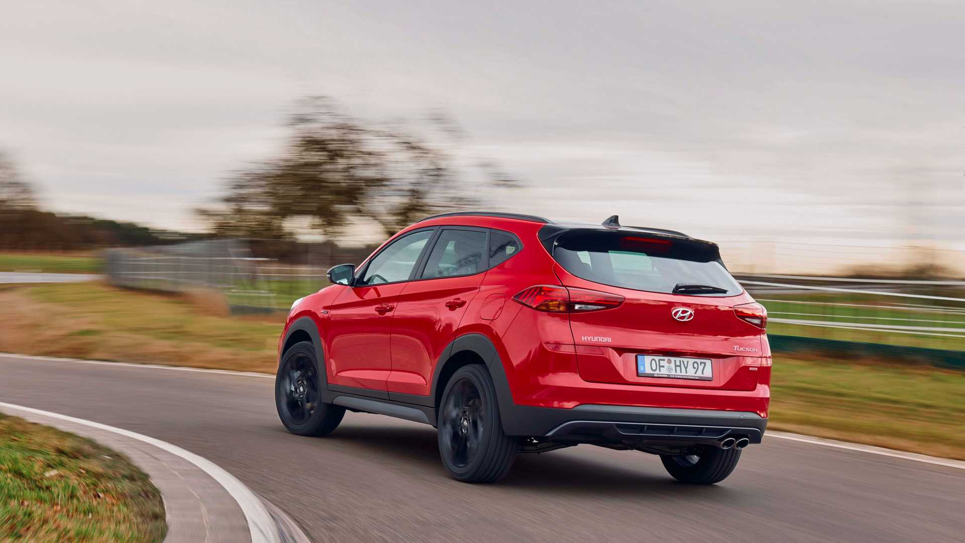 2019 Hyundai Tucson N Line Rear Three-Quarter Wallpaper (5)