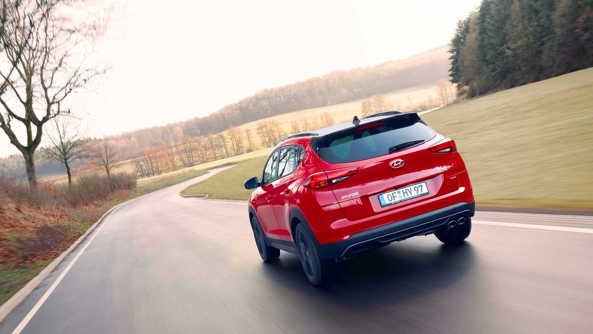 2019 Hyundai Tucson N Line Rear Wallpaper (6)