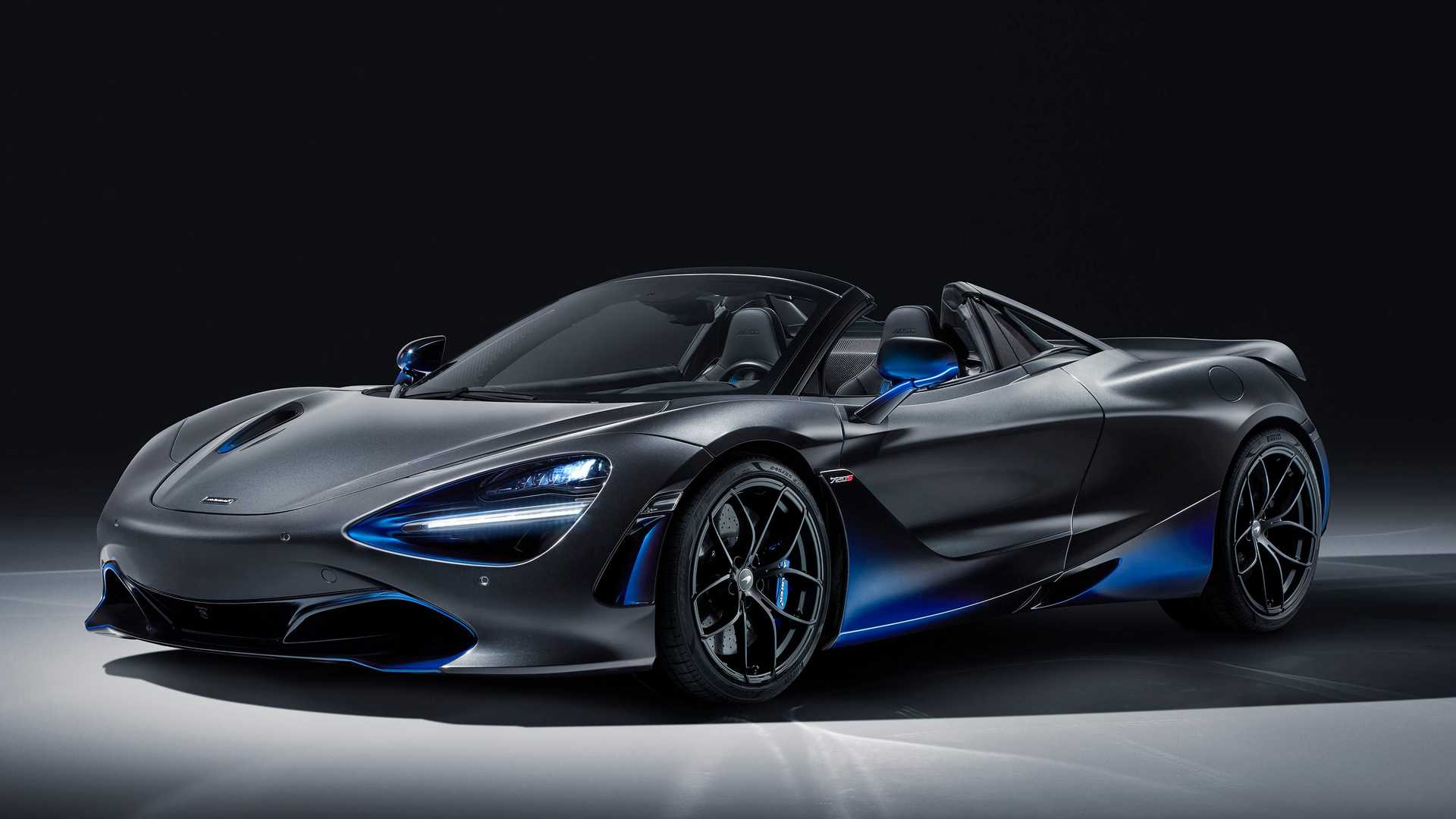 2019 McLaren 720S Spider by MSO Front Three-Quarter Wallpapers (1)