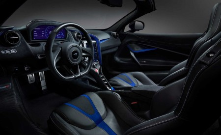 2019 McLaren 720S Spider by MSO Interior Cockpit Wallpapers 450x275 (9)