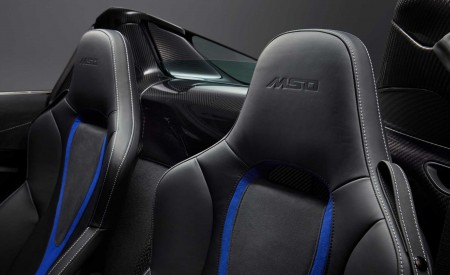 2019 McLaren 720S Spider by MSO Interior Seats Wallpapers 450x275 (8)