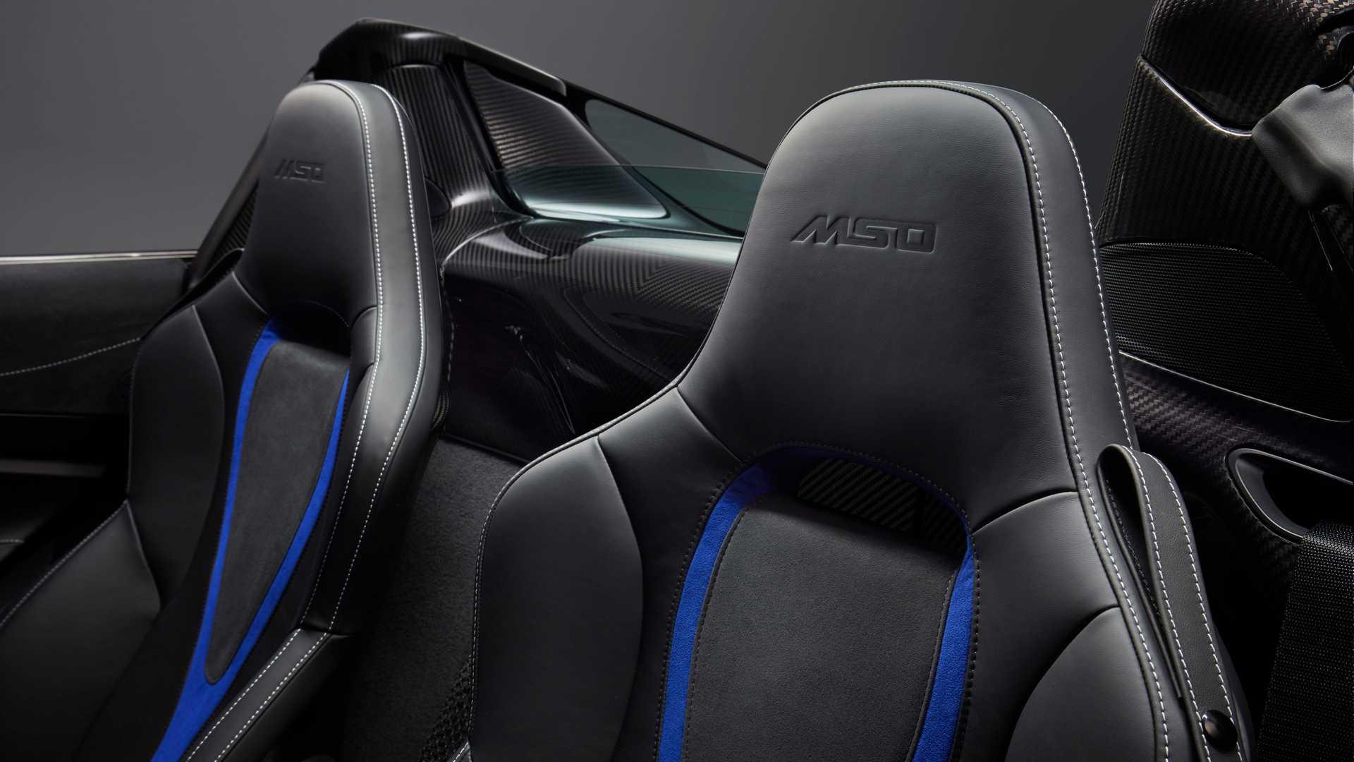 2019 McLaren 720S Spider by MSO Interior Seats Wallpapers (8)