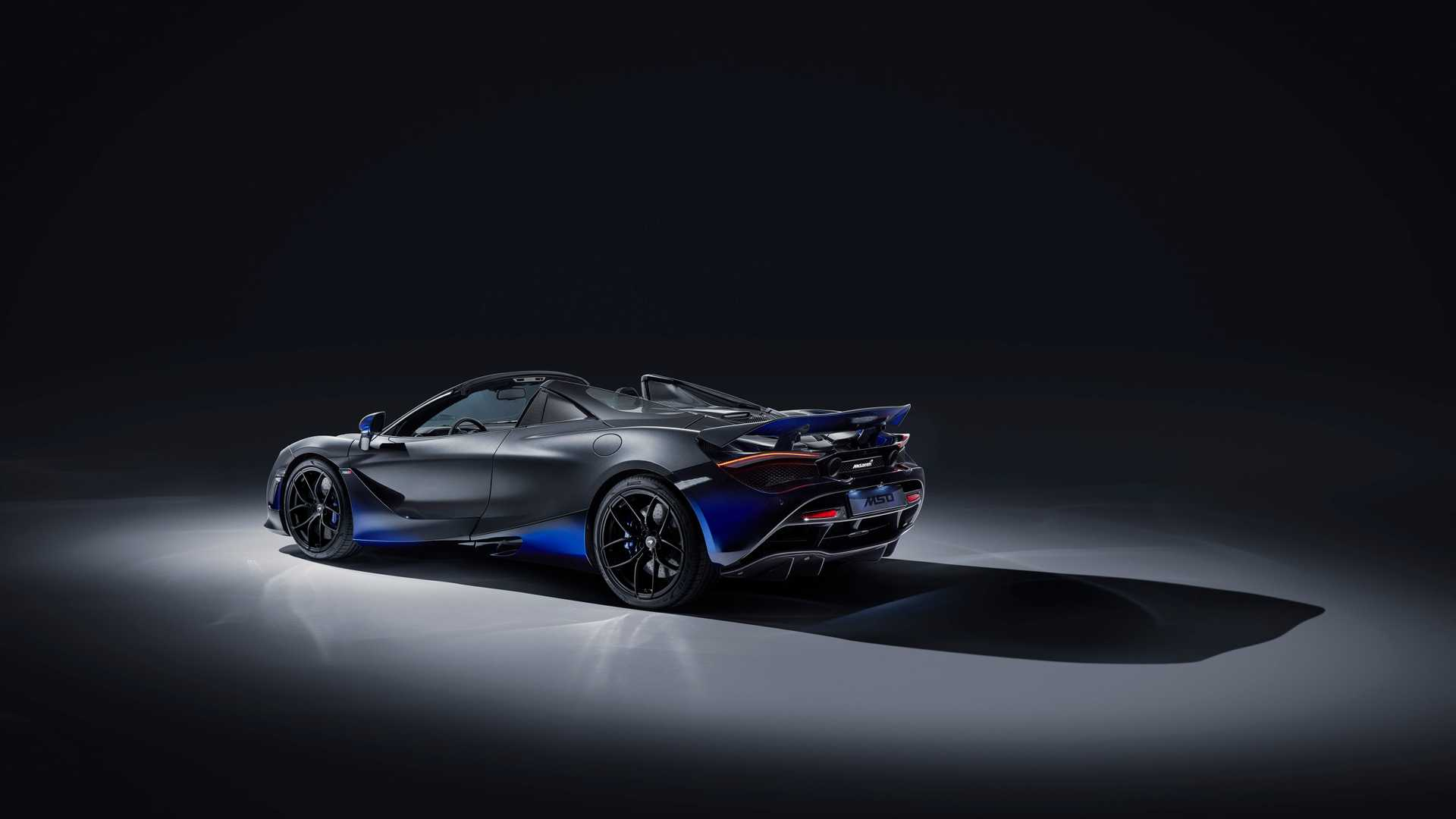 2019 McLaren 720S Spider by MSO Rear Three-Quarter Wallpapers (2)