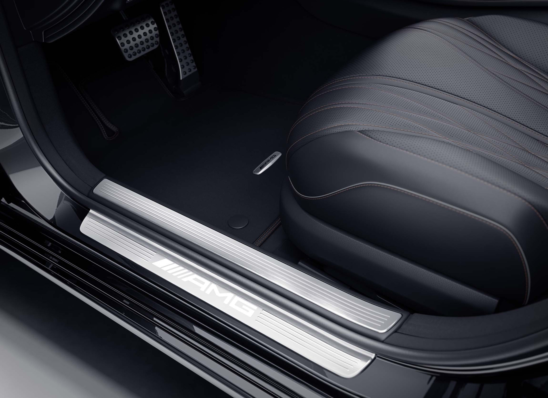 2019 Mercedes-AMG S65 Final Edition Door Sill Wallpapers (6)