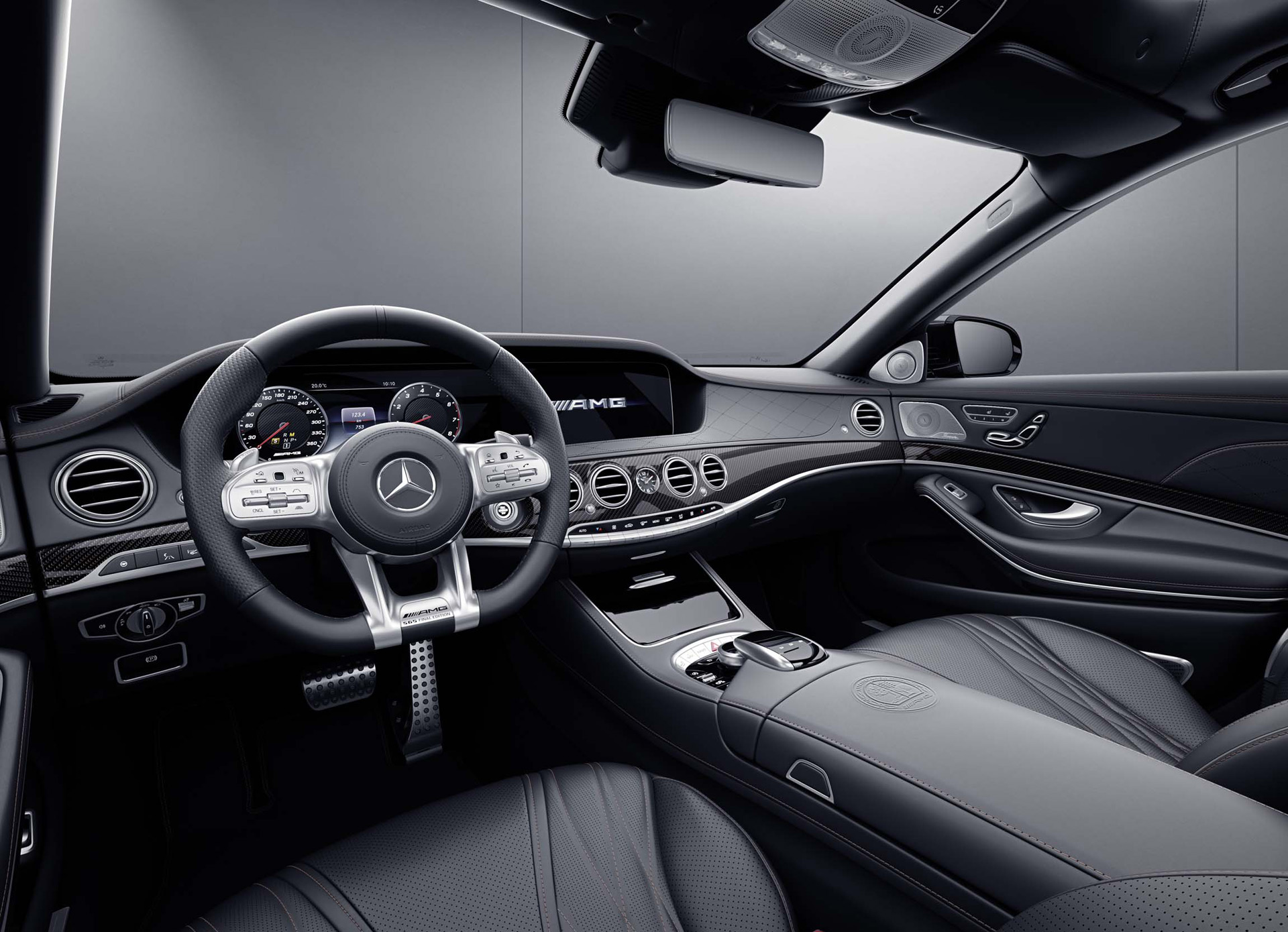 2019 Mercedes-AMG S65 Final Edition Interior Cockpit Wallpapers (8)