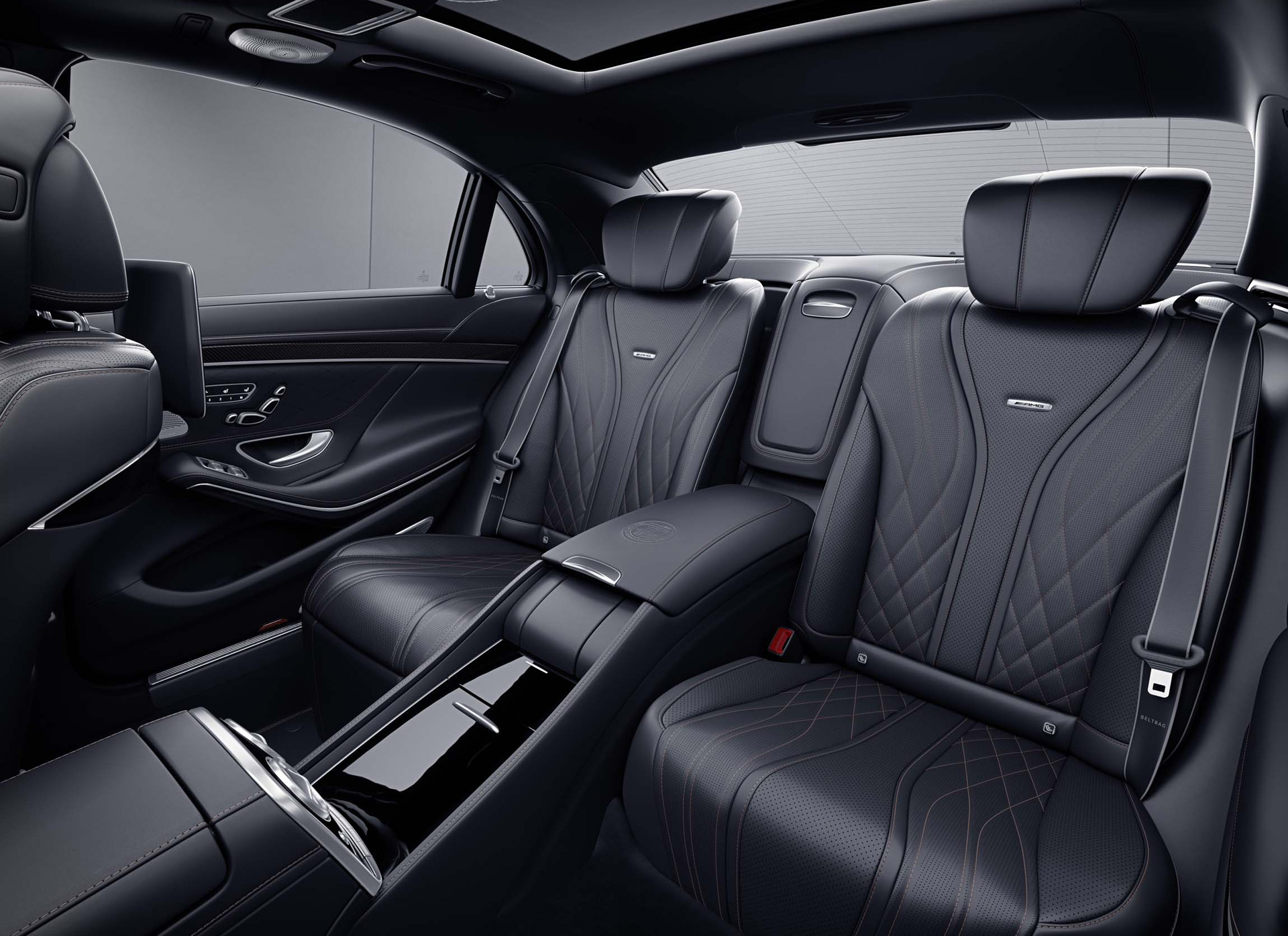 2019 Mercedes-AMG S65 Final Edition Interior Rear Seats Wallpapers (9)
