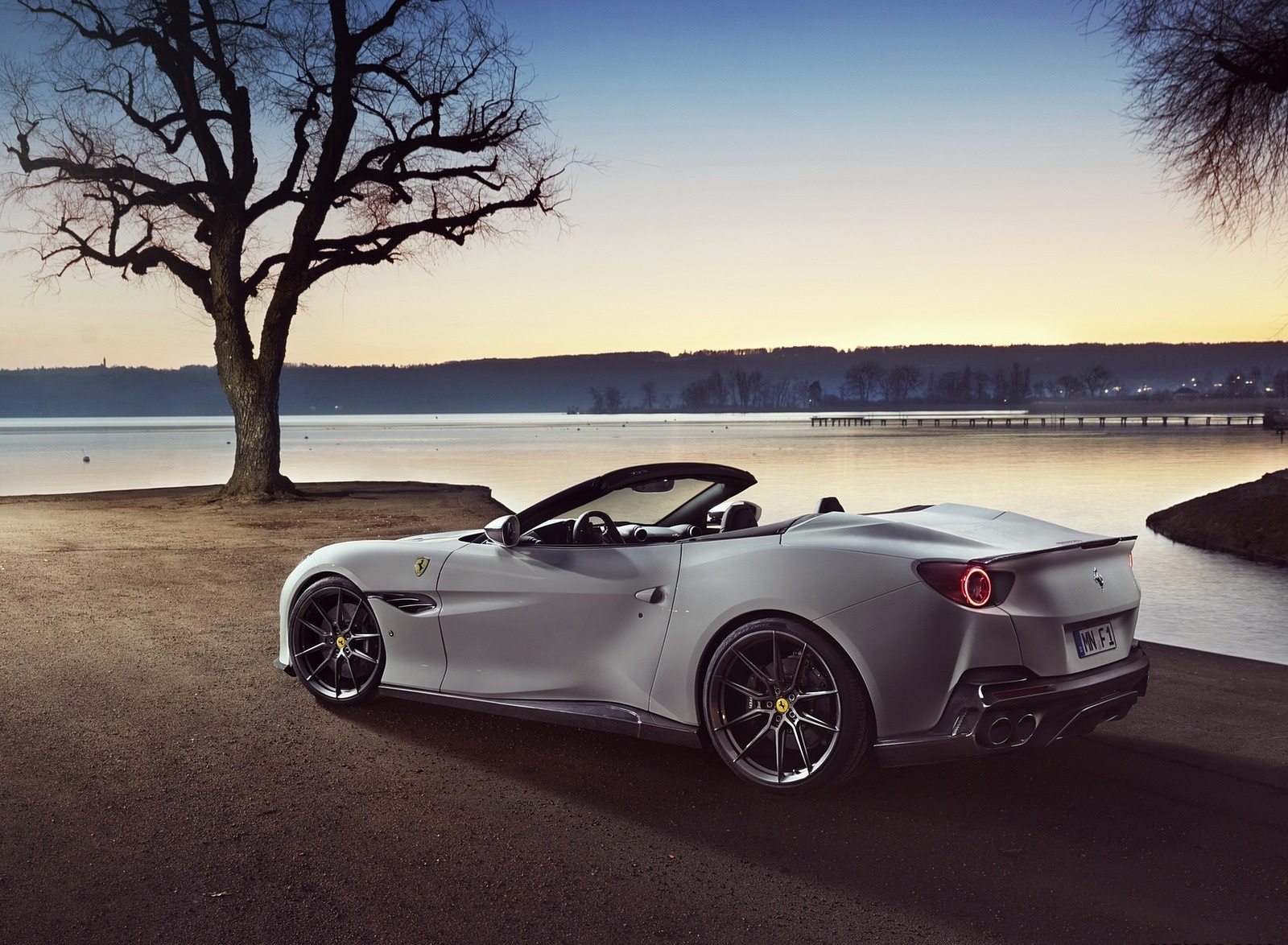 2019 NOVITEC Ferrari Portofino Rear Three-Quarter Wallpaper (10)