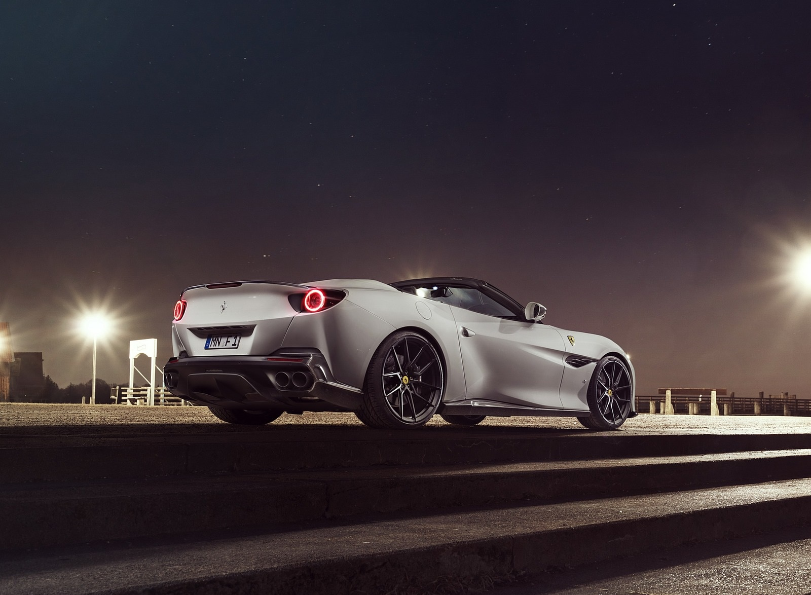 2019 NOVITEC Ferrari Portofino Rear Three-Quarter Wallpaper (11)
