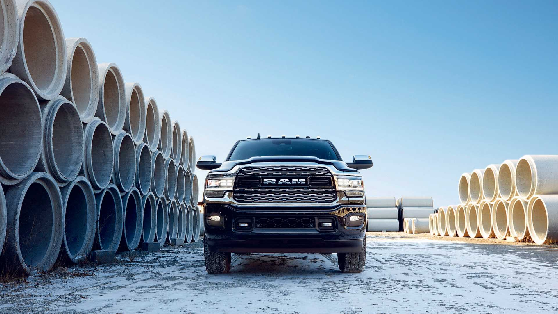 2019 Ram 2500 Heavy Duty Front Wallpapers 19 Newcarcars