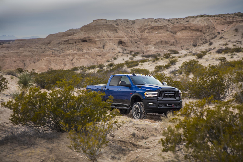 2019 Ram 2500 Power Wagon (Color: Blue Streak) Front Three-Quarter Wallpaper (9)