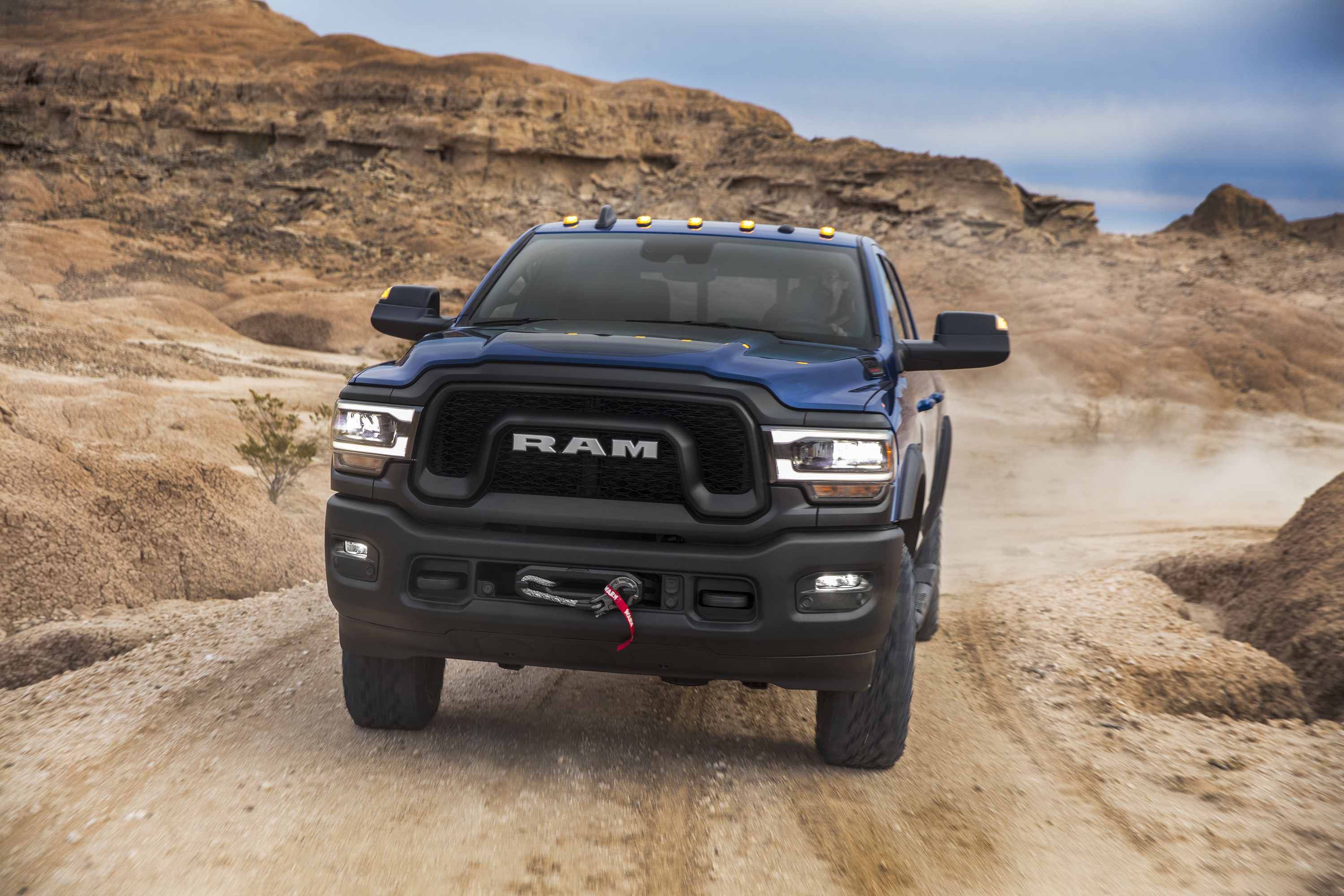 2019 Ram 2500 Power Wagon (Color: Blue Streak) Front Wallpapers (5)