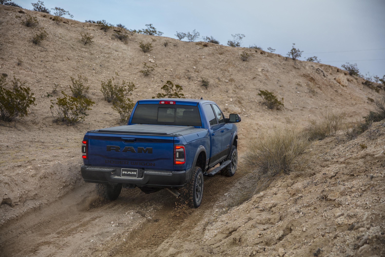 2019 Ram 2500 Power Wagon (Color: Blue Streak) Rear Three-Quarter Wallpaper (12)