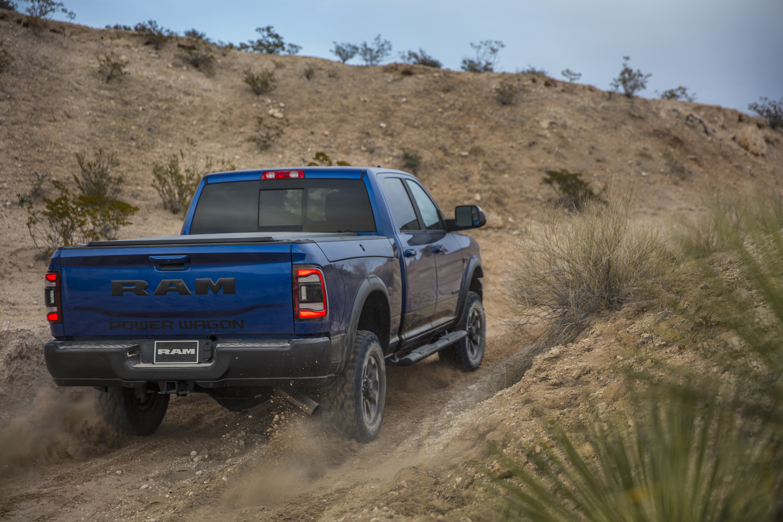 2019 Ram 2500 Power Wagon (Color: Blue Streak) Rear Three-Quarter Wallpapers (13)