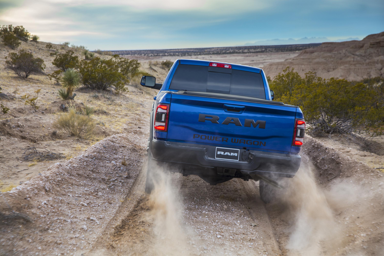 2019 Ram 2500 Power Wagon (Color: Blue Streak) Rear Wallpaper (14)