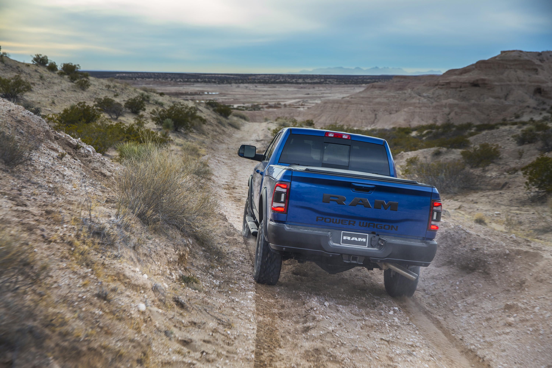 2019 Ram 2500 Power Wagon (Color: Blue Streak) Rear Wallpaper (15)