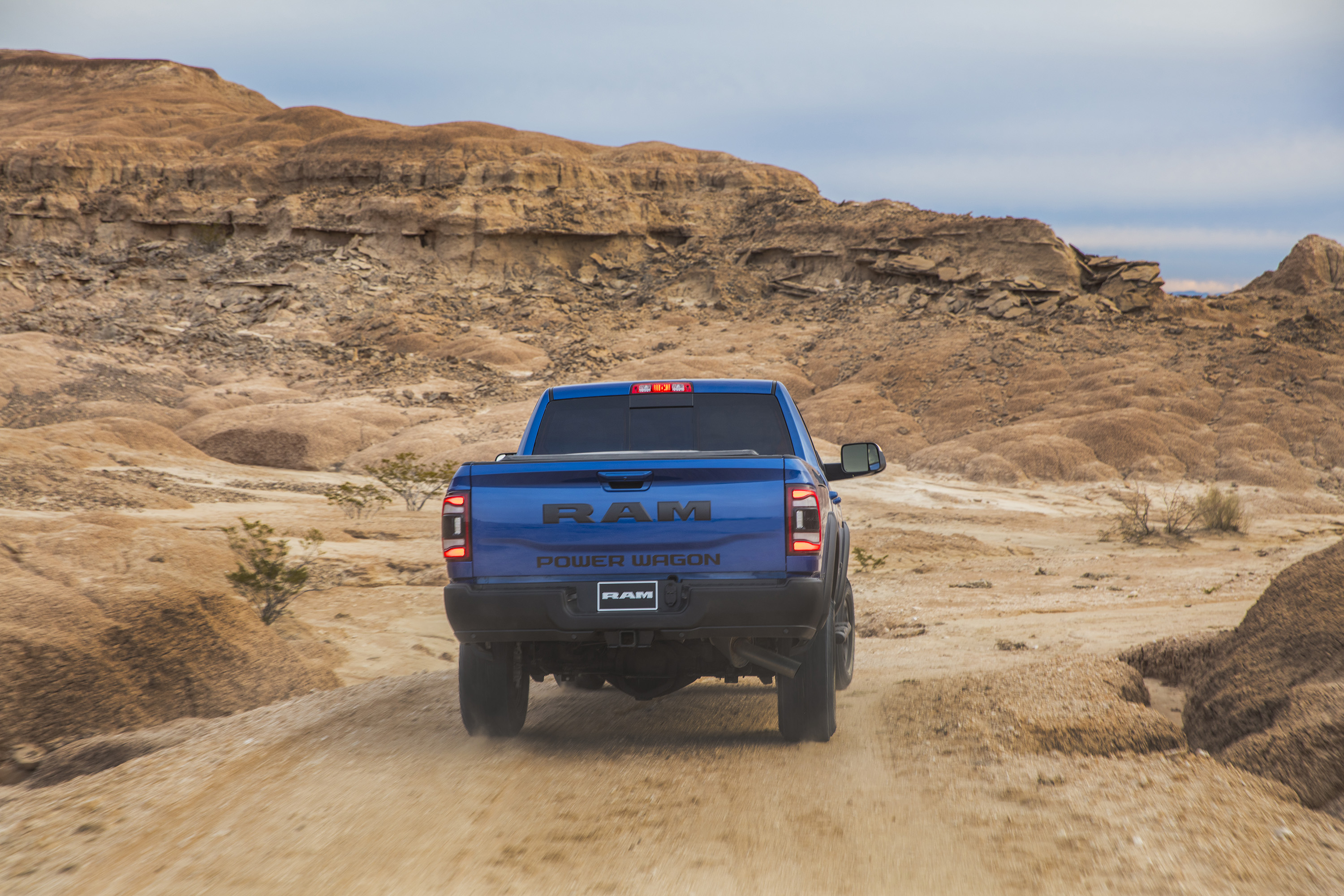 2019 Ram 2500 Power Wagon (Color: Blue Streak) Rear Wallpapers #7 of 64