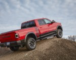 2019 Ram 2500 Power Wagon (Color: Flame Red) Rear Three-Quarter Wallpapers 150x120