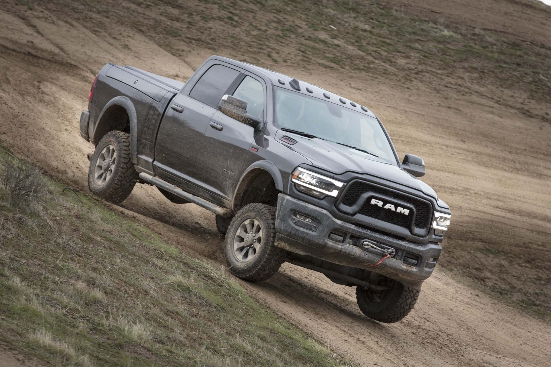 2019 Ram 2500 Power Wagon (Color: Granite Crystal Metallic) Front Three-Quarter Wallpapers #47 of 64