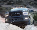 2019 Ram 2500 Power Wagon (Color: Granite Crystal Metallic) Grill Wallpaper 150x120 (50)
