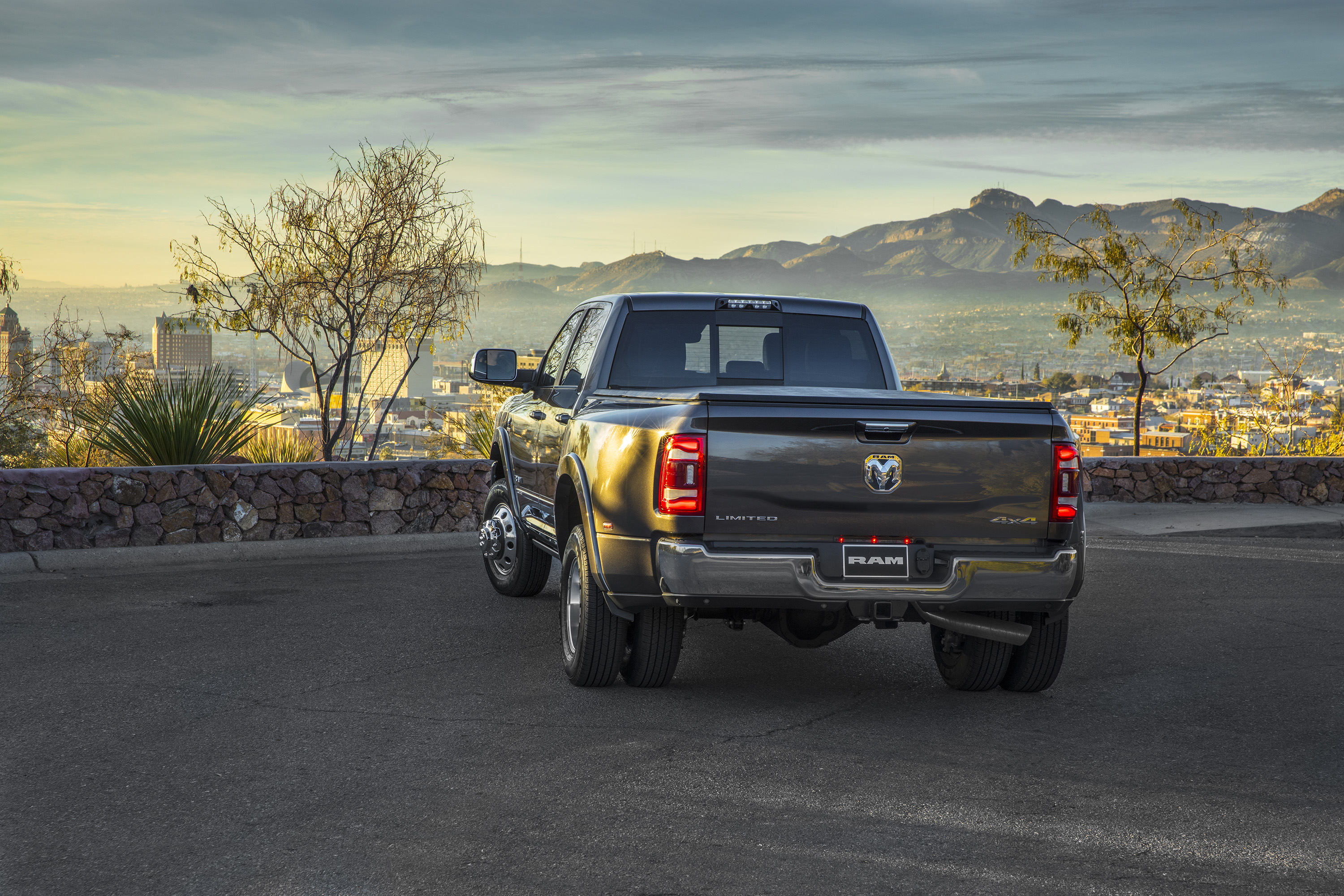 2019 Ram 3500 Heavy Duty Limited Crew Cab Dually Rear Three-Quarter Wallpapers (12)