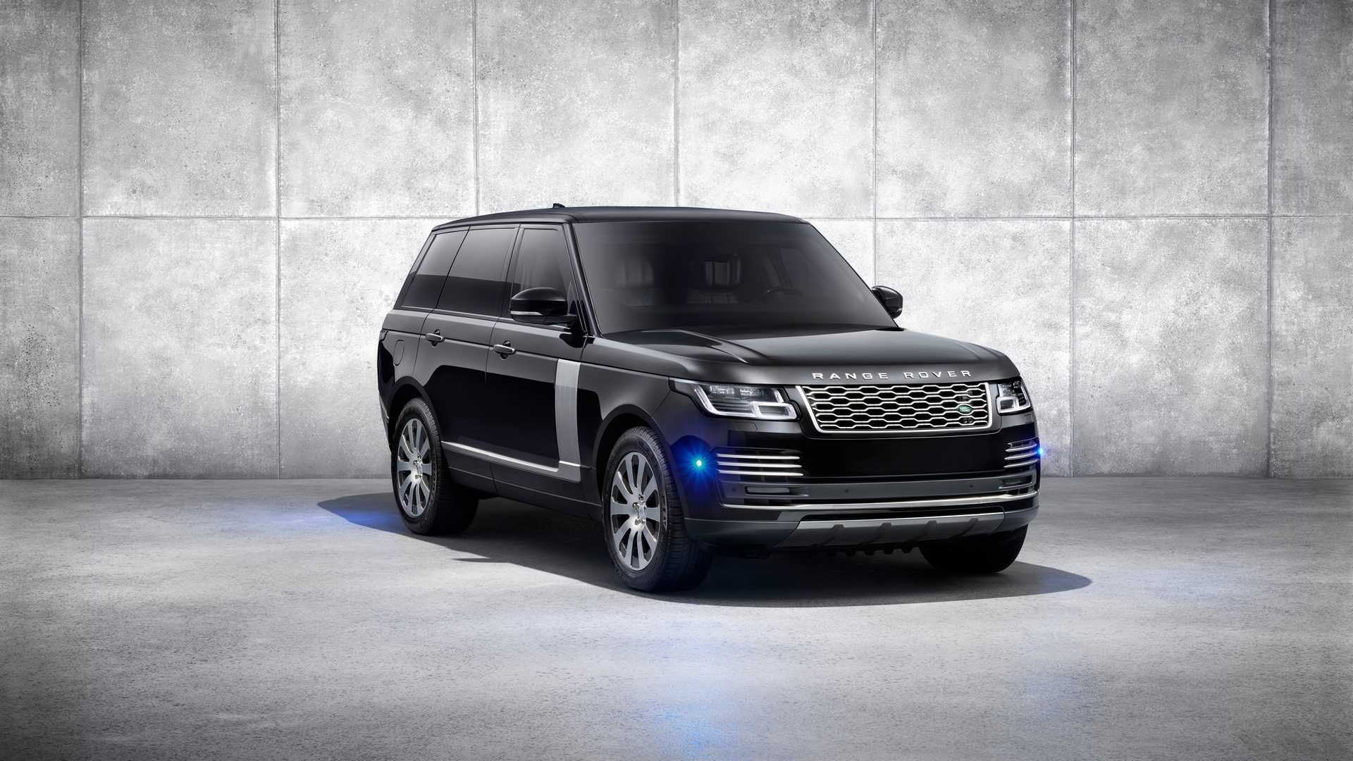 2019 Range Rover Sentinel Armored Vehicle Front Three-Quarter Wallpapers (4)