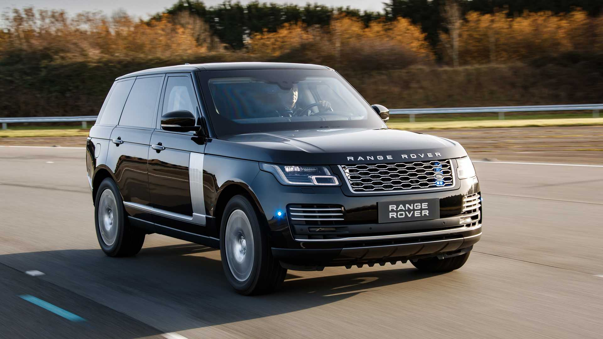 2019 Range Rover Sentinel Armored Vehicle Front Three-Quarter Wallpapers (1)