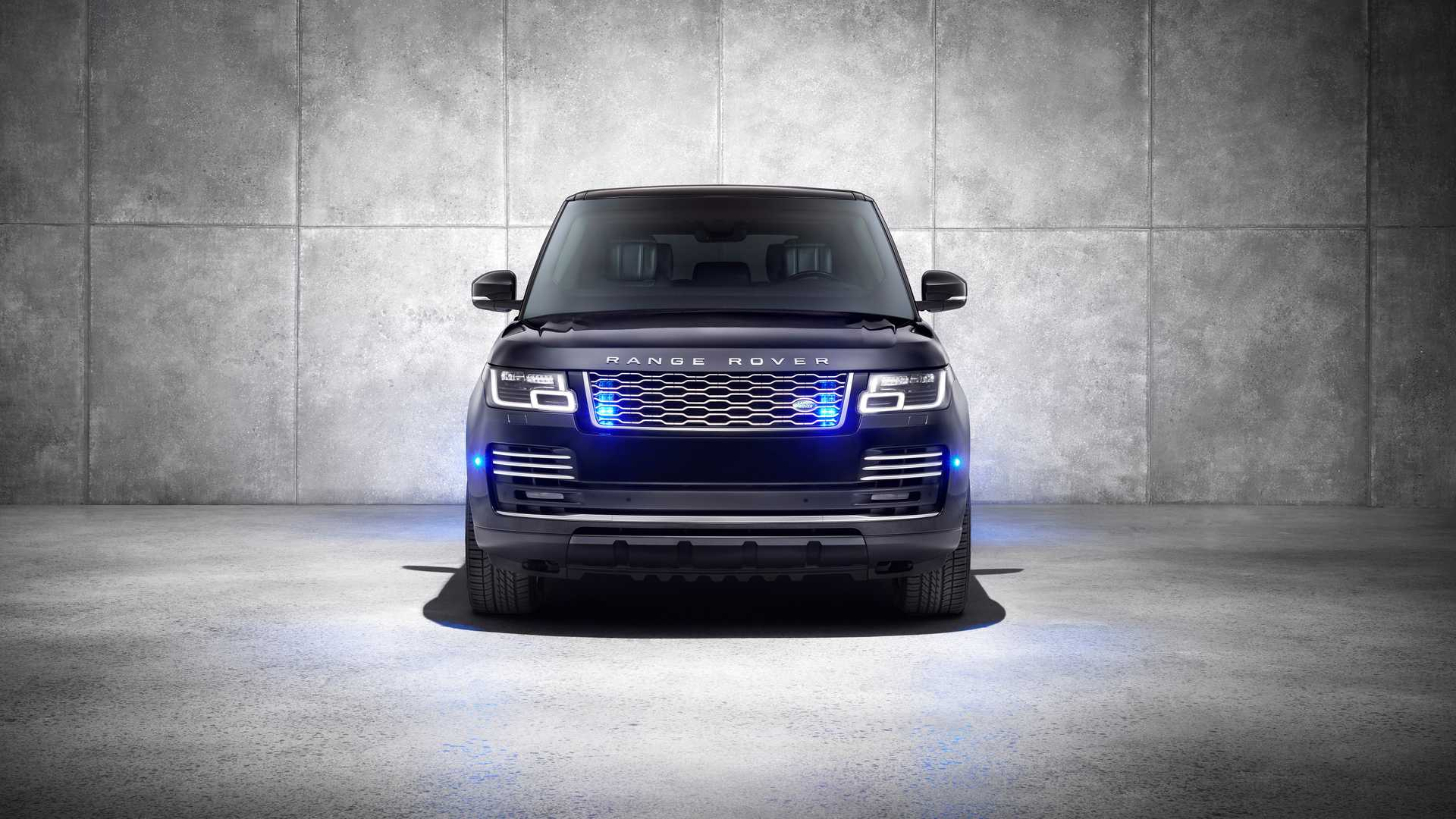 2019 Range Rover Sentinel Armored Vehicle Front Wallpapers (5)