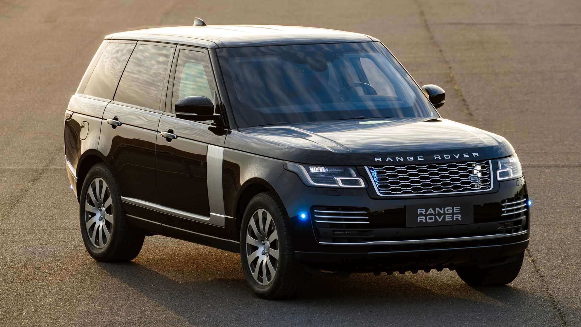 2019 Range Rover Sentinel Armored Vehicle Front Wallpapers (2)
