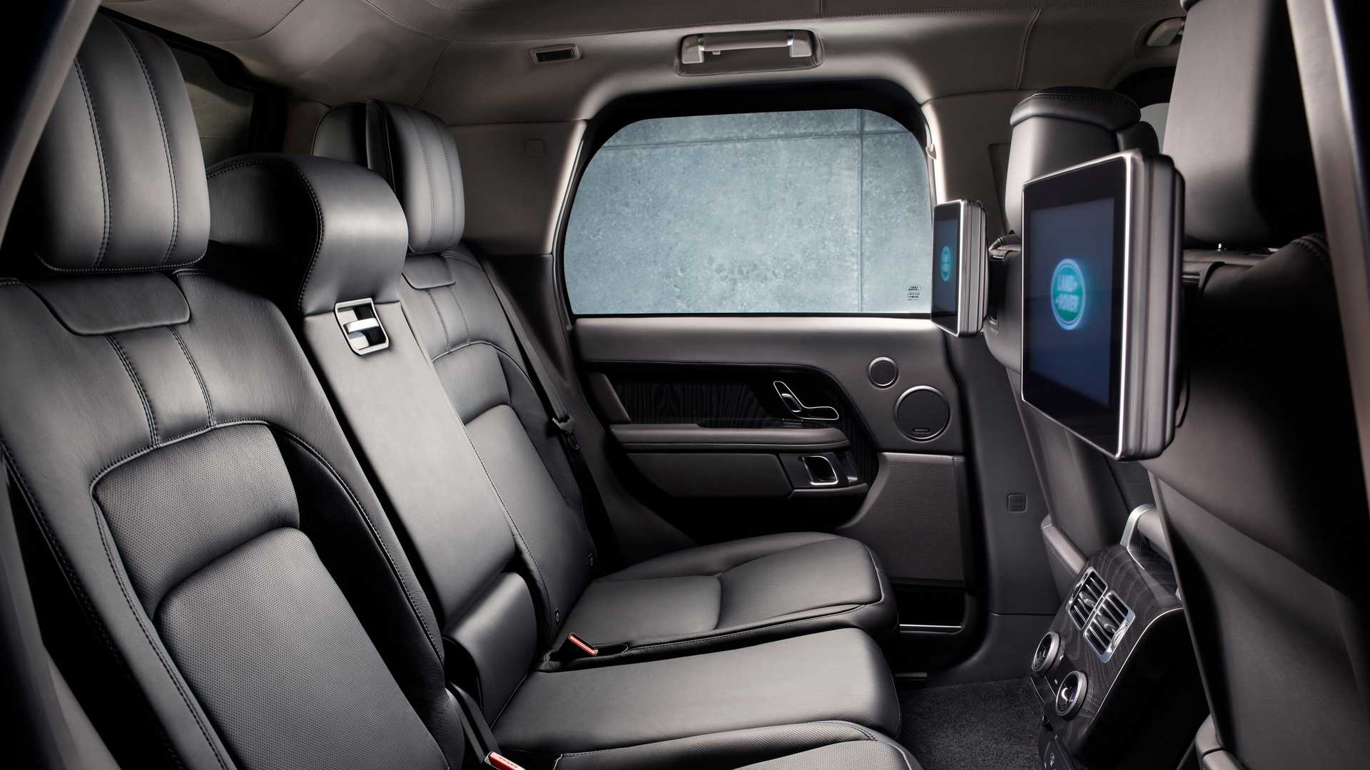 2019 Range Rover Sentinel Armored Vehicle Interior Wallpapers (9)