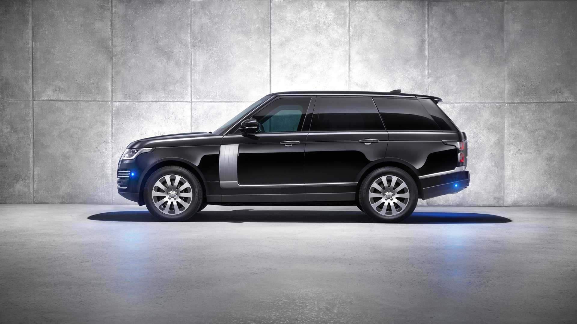 2019 Range Rover Sentinel Armored Vehicle Side Wallpapers (8)