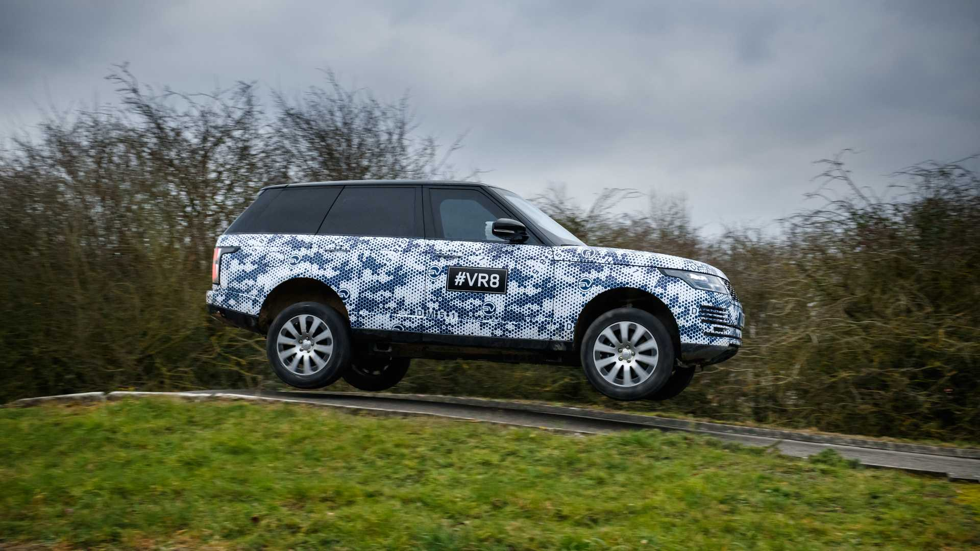 2019 Range Rover Sentinel Armored Vehicle Testing Wallpapers (10)