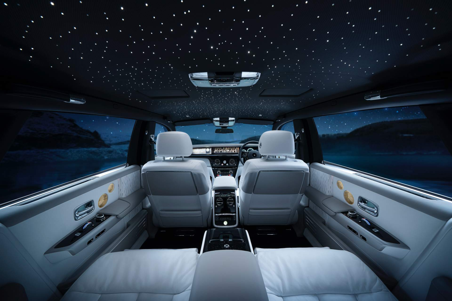 2019 Rolls Royce Phantom Tranquillity Interior Wallpapers