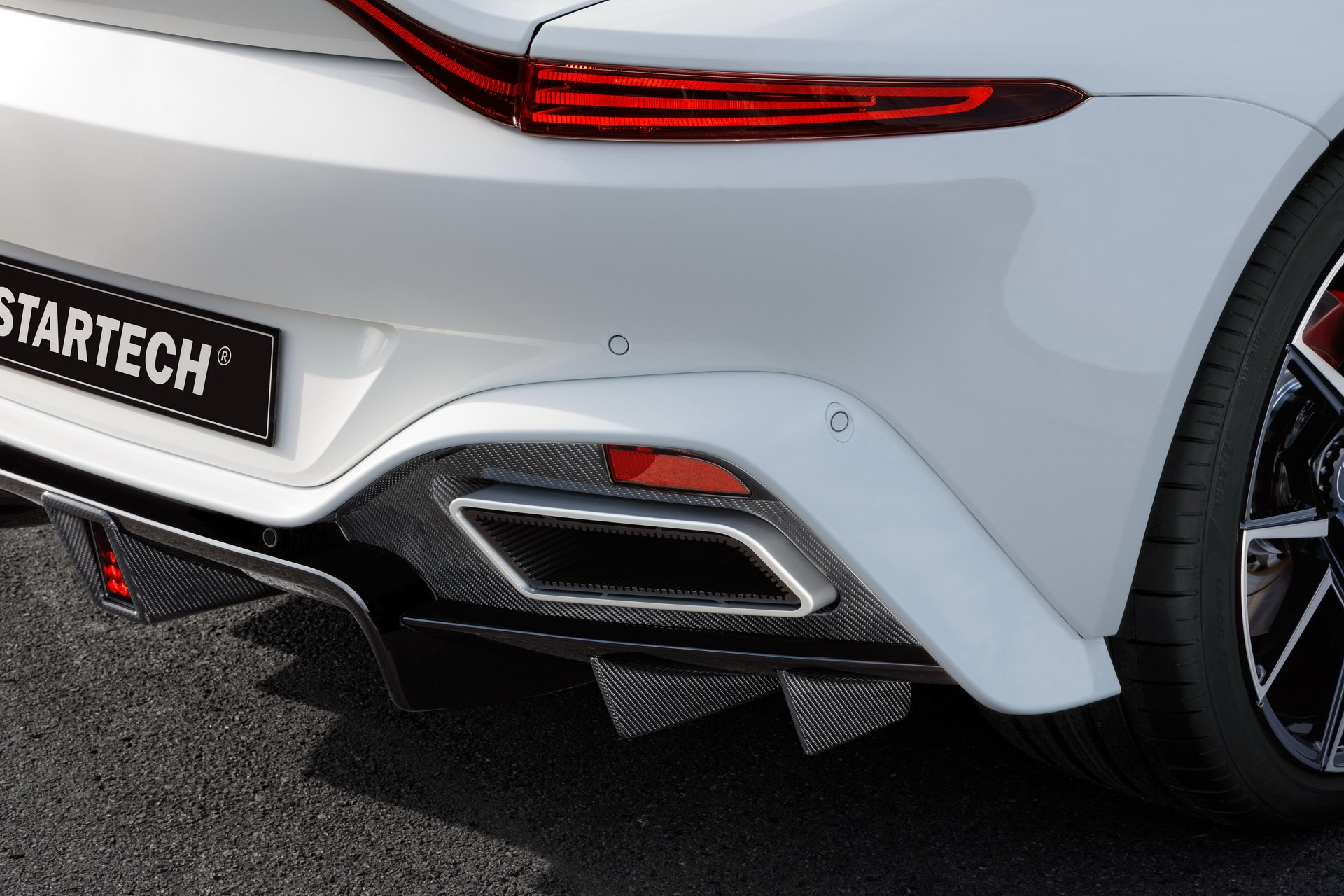 2019 STARTECH Aston Martin Vantage Exhaust Wallpapers (7)
