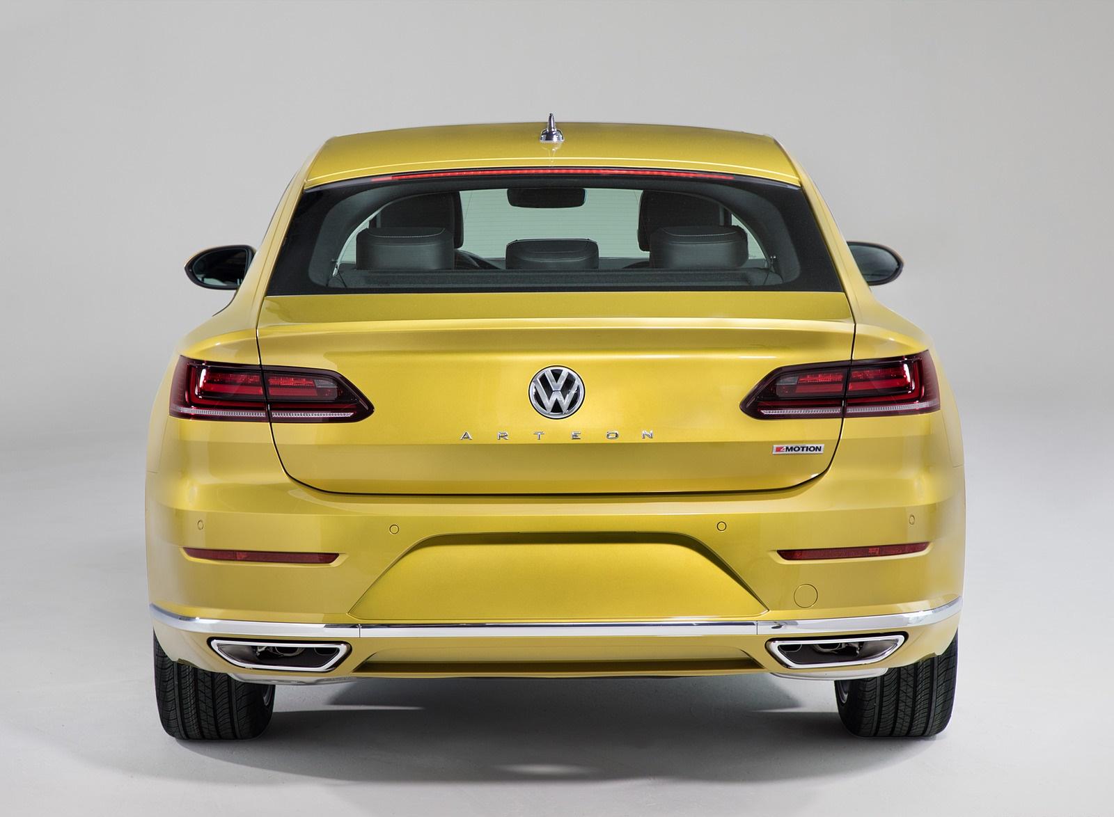 2019 Volkswagen Arteon (US-Spec) Rear Wallpaper (14)