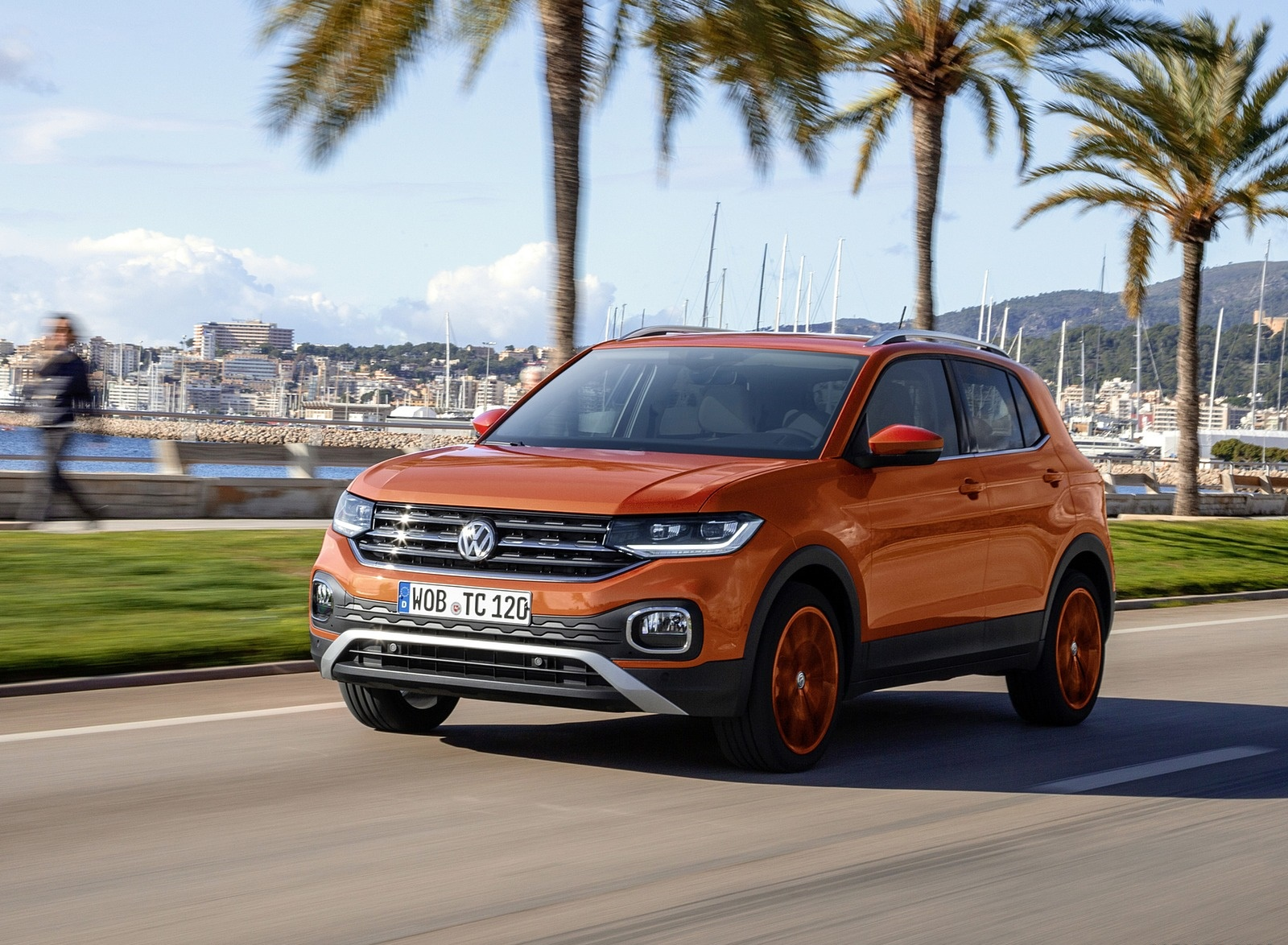 2019 Volkswagen T-Cross Front Three-Quarter Wallpaper (7)