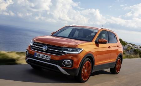 2019 Volkswagen T-Cross Front Three-Quarter Wallpaper 450x275 (4)